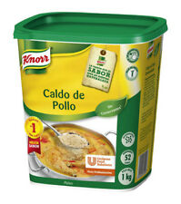 Knorr Bouillon Powder Chicken Flavour 1Kg - Stock Broth For Soups- Sauces Paella