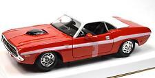 DODGE CHALLENGER R/T 1970 NEW 31263 1:24 MAISTO MODEL RED WHITE