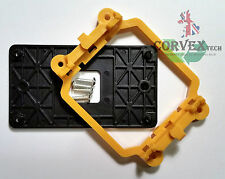 Cooling Retention Bracket for AMD CPU: Socket AM3, AM3+, AM2, AM2+, 940 Yellow