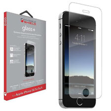 ZAGG InvisibleShield Glass+ Tempered Screen Protector, Apple iPhone 5 5S 5C SE