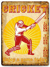 England Cricket sports METAL SIGN collectible vintage style wall decor art 644
