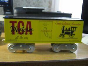 McCoy Standard gauge train TCA HGM Western Division boxcar 1001