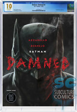BATMAN DAMNED #1 - FIRST PRINT - DC COMICS - CGC 10 GEM MINT - WHITE PAGES - KEY