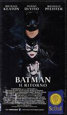 VHS - BATMAN IL RITORNO - TIM BURTON - MICHAEL KEATON - DANNY DE VITO - PFEIFFER