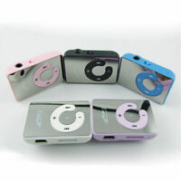 Mini Schwarz Mirror Clip USB Digital Mp3 Music Player Support Card TF 8GB K5I7