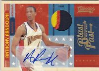 ANTHONY RANDOLPH 10-11 CLASSICS BLAST FROM THE PAST #21 3CLR PATCH #12/25 BK5006
