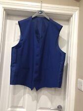 BNWOT DCC mens blue Waistcoat size XL