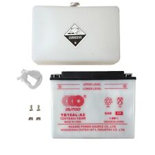 YB16AL-A2 Battery for Yamaha PZ500DX Phazer 500 Deluxe Ducati Snowmobile
