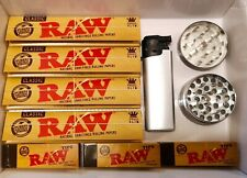 More details for king size raw rolling papers + raw tips! 10 raw + 6 tips £6.99 raw grinder set!