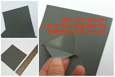 Thermal Conductive Soft Silicone Pad 100*100*0.5mm CPU GPU Cooling 5.0 W/m.K