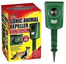 Ultrasonic Animal Repeller Outdoor Pest Repellent PIR Sensor Cat Dog Bird Foxes
