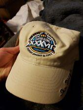 Super Bowl XXXVII 37 Hat NFL Football REEBOK San Diego California