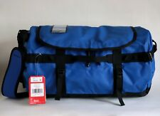 NWT THE NORTH FACE SMALL BASECAMP WATER RESISTANT DUFFEL BAG BLUE BLACK