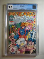 CGC 9.6 - WildC.A.T.S. 1 Jim Lee '92 Image Comic White pg Covert Action Teams NM