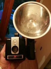 Vintage Kodak Brownie Flash Box Camera Hawkeye Model Kodalite Flasholder Used/GC