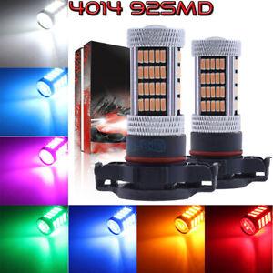 NEW 2x 4014 92SMD LED Bulbs Kit Fog Light Super Bright Wholesale 9005 9006 H11
