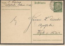 GERMANY POSTAL STATIONERY 1934 POSTCARD    MY REF  1865