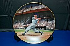 The Bradford Exchange Great Moments In Baseball Joe DiMaggio The Streak Plate