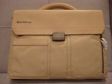 MANDARINA DUCK JOINER BRIEFCASE SHOULDER BAG BEIGE COLOR - BRAND NEW