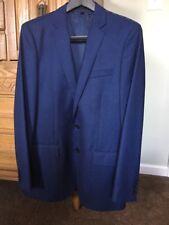 J.Crew Ludlow Suit Jacket In Italian Wool Flannel Size 40 L Cobalt Heather Blue
