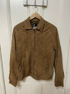Austin Reed Brown Leather Jacket (size M)