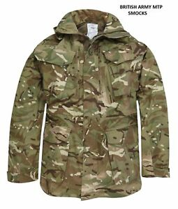 BRITISH ARMY MTP MULTICAM PCS WINDPROOF SMOCK BRAND NEW UNISSUED 160/88 170/88