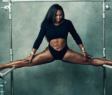 Serena Williams UNSIGNED photo - B271 - BEAUTIFUL!!!!