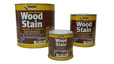 Everbuild Wood Stain Indoor And Outdoor Quick Drying 5 YR All Colours All Sizes