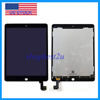 Black LCD Screen Touch Digitizer Replacement Assembly for iPad Air 2 2nd Gen USA