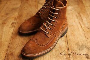 Paul Smith Tan Brown Suede Boots Shoes Men's UK 8 US 9 EU 42