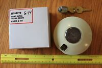 Thermolok Round Metal Thermostat guard with lock & key G-14 BETG87FR