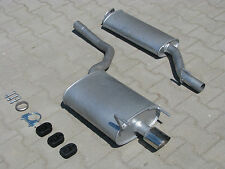 Mercedes CLK 200 230 C208 A208 Convertible Coupe 2.0 2.3 exhaust system *3300