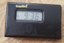 Vintage Quartz Compuchron Travel Alarm Clock