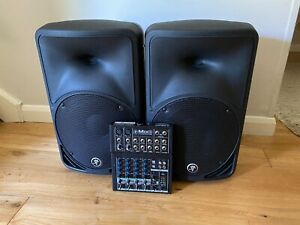 Mackie SRM350 V2 Small Pa System inc 8 channel Mixer