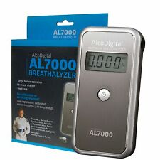 AlcoDigital AL7000 Digital Alcohol Breathalyser Drink Driving Breath Test