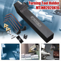 MTJNR2020K16+TNMG1604 Insert--2pcs+ST1603 CMT513+HL1804+L2.2 Turning Tool Holder