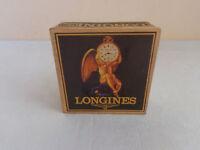 """Handgefertigt Taschenuhr Box """"LONGINES"""" Karton Uhrenboxen Uhren Schatulle Kasten"""