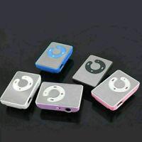 Mini Schwarz Mirror Clip USB Digital Mp3 Music Player 8GB SD Support Card w G1O9