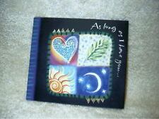 Hallmark Love Card 4 Song Music CD Happy Together Cherish Lost In Love My World