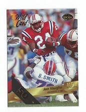 1993 Wild Card 50 Stripe #145 Jon Vaughn Patriots