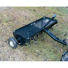 "Plug Aerator - Tow Behind - 48"" Long - 32 Spikes - Commercial Duty"