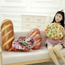60cm/23.62'' Valentine's Day Baby Toy Bread Pizza Pillow Bolster Gift