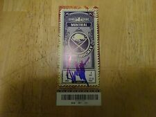 Tyler Meyers Autographed  1st NHL Game--Point--Goal Tickets  Free  s/h