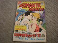 Romantic Secrets #32 (1961) Charlton Romance Comics