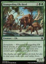 Stampeding Elk Herd FOIL | NM/M | Dragons of Tarkir | Magic MTG
