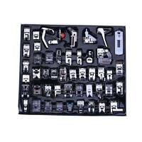 48pcs Metal Sewing Machine Foot Presser Feet Set for Brother Singer Janome Parts