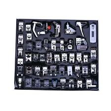 48 PCS Domestic Sewing Machine Foot Presser Feet Kit For Brother Singer Janome V