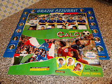 ALBUM CALCIATORI CALCIO 1990 91 JUNIOR COMPLETO ORIGIN. OTTIMO+CEDOLA+POSTER CPL