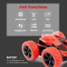4Wd 2.4Ghz Remote Control Car Double Sided Rotating Vehicles 360° Flips Rc car