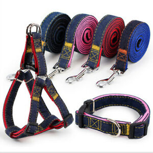 Dog Harness Leash Set Dogs Leads Puppy Walking Rope with collar